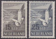 The Netherlands 1951 – Airmail, Seagull – NVPH LP12/13