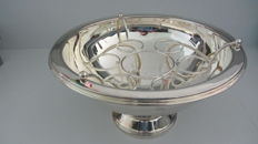 Large silver plated champagne cooler/wijn cooler/punch bowl -  second half 20th century
