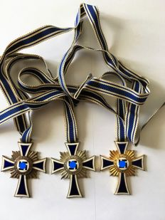 1933-1945 3rd Reich The Cross of Honour of the German mother gold/silver and bronze
