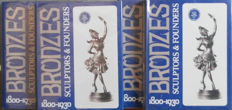 Bronzes: Sculptors & Founders 1800-1930 by Harold Berman - Abage - First Edition 1981 - Four Encyclopedias & Master Index