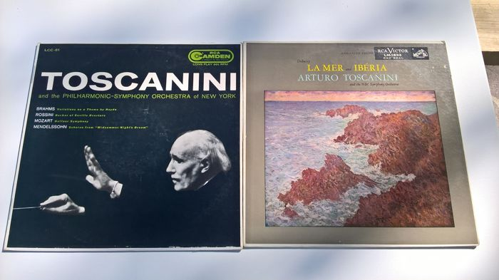 Arturo toscanini lot of 13lp rca 3lp hmv and 2box set for 12 vynil arturo toscanini lot of 13lp rca 3lp hmv and 2box set for 12 vynil rca 19607080 including limited edition memorial tribute gumiabroncs Image collections