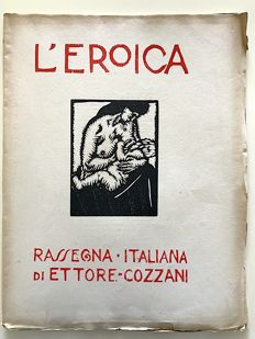 L'Eroica Issues no. 61 and 62 year 1920 Collection Fondo Ettore Cozzani