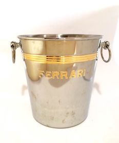 Ferrari - large inox Ice-Bucket - 1970s
