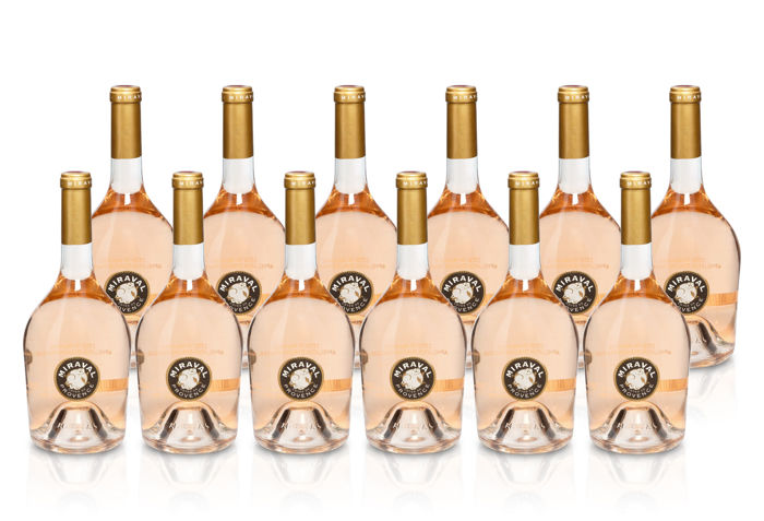 2016 Chateau Miraval Rose AC – Jolie / Pitt & Perrin - 12 bottles (75cl)