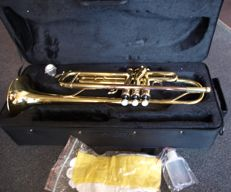 Trumpet Purcell SDTR4315L with red copper mouthpiece and solid case, Bb (B flat trumpet)