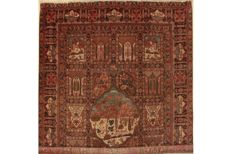 Luxurious Persian carpet, Bilder Khoi (Khoy), 445 x 335 cm, *UNICA/ONE-OFF