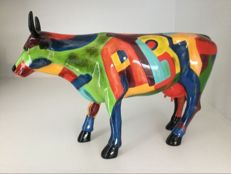 Cow Parade Cowparade - Art of America - Large - Resin - Retired !