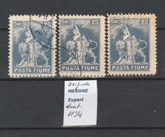 Italy, Fiume - 1918-1923 – Selection of stamps