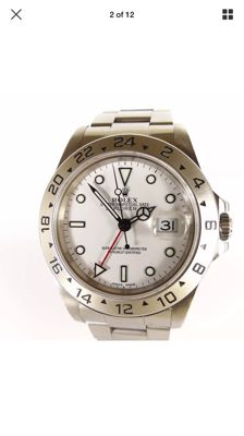 Rolex Oyster Perpetual Explorer II Ref: 16570 - Men's/unisex watch - Year: 1991