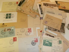 German Empire, Bavaria, Württemberg - 382 letters, postal items and postcards