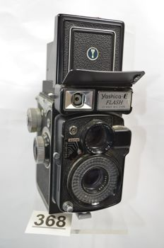 Special Yashica E Flash from 1964