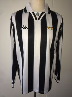 Alessandro Del Piero / Juventus - Intercontinental Cup Final shirt 1996; Juventus vs River Plate.