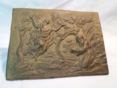Bronze plaque - Italy - 18th century