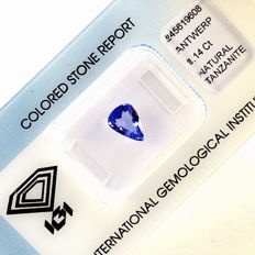 Tansanit - 1.14 ct - No Reserve