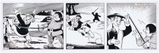 Delden, Loek van - Original strip (s.12) - Don Quichot - story 3 - (1955)