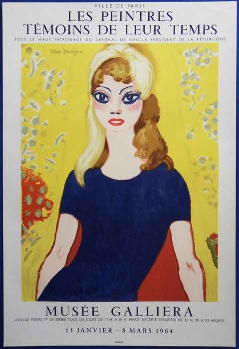 Kees Van Dongen (after) - Brigitte Bardot