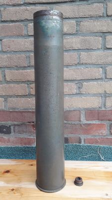 1 time reload German 8.8 cm Brassed/steel Flak 18 shell from 1942