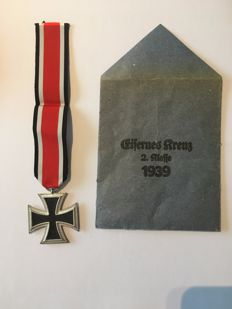 "WW II ""Iron Cross 2nd Class 1939"" German Reich"