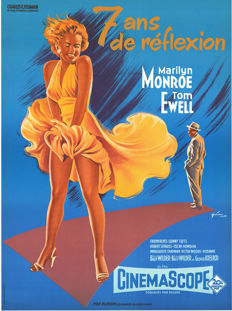 Grinsson - 7 ans de réflexion (The Seven Year Itch, Marilyn Monroe) - 1980s