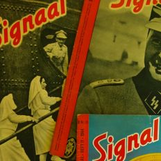 Magazines; Lot with 50 issues Signal/Signaal - 1940/1945