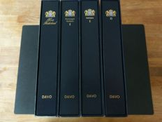 The Netherlands 1993/2001 – Collection of sheets and booklets in two Davo LX albums + two empty albums