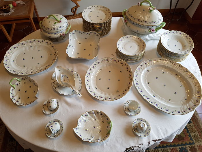 Herend, 84 pieces Extensive tableware