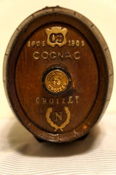 Cognac Croizet Napoléon in a Wooden Barrel Case
