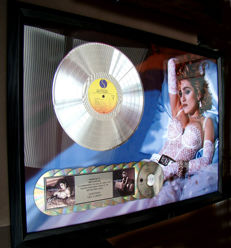 "Madonna ""Like a Virgin"" 10 million sales stunning award"
