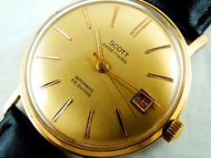 SCOTT ANCRE - SWISS men's watch from the 1960s.