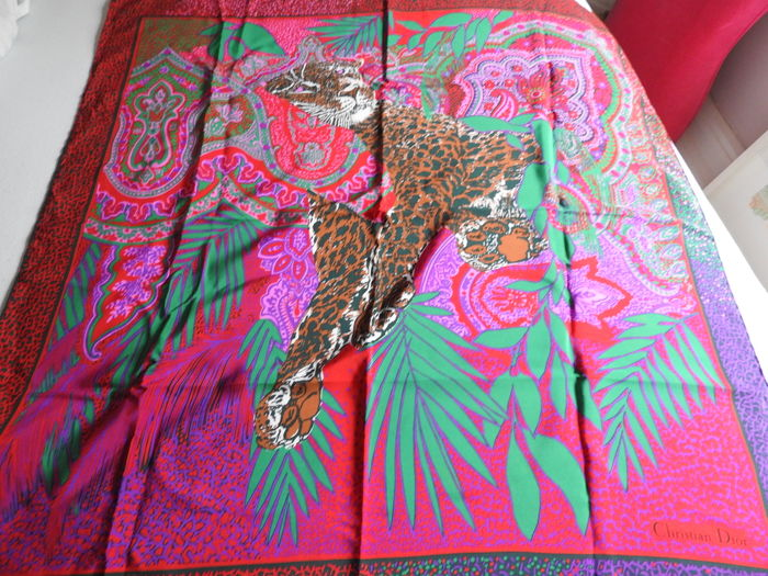 Christian Dior – carre foulard scarf – very good condition. - Catawiki 4ab0e3c7ff6