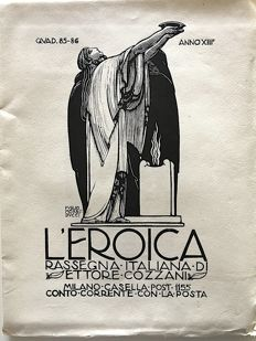 L'Eroica Issues 85-86 year 1924 of the Collection Fondo Ettore Cozzani