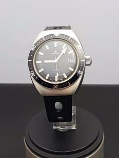 Crown Watch Diver Automatic- N.O.S men's watch – Swiss  1970s