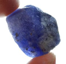 Tanzanite Crystal Royal blue  - 2,9 x 2,0 x 1,8cm - 96,1ct/19,22gm