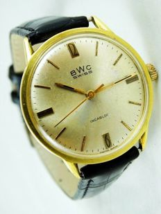 BWC SWISS men's watch from the 1970s