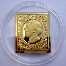 24 carat gold bar of the Grand Duke of Luxembourg - 1852