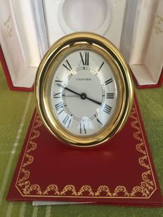 Cartier alarm clock - 1980s