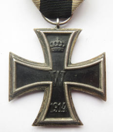 "German original medal Iron Cross 2nd class by the maker ""KO"" WW1"