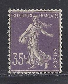 France 1906 - Type Semeuse - Yvert n° 136