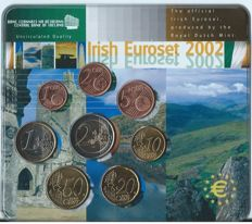 Ireland - Year pack 2002 (Issued by KNM)