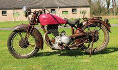 New Imperial - Modell 46 Deluxe - 350 ccm OHV  - 1937