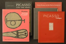 Picasso; Lot with 5 publications - 1993 / 2001