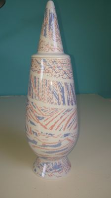 "Alessandro Mendini covered vase ""100% Make-up"" (no.81)"