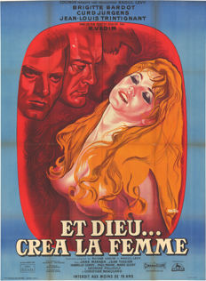 Peron - Et Dieu crea la femme (And God Created Woman) featuring Brigitte Bardot - 1964