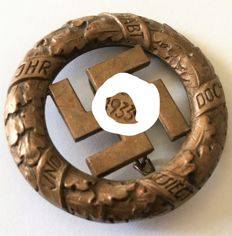 Third Reich festival badge of commemoration of 1933
