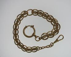 Gold Filled Pocket Watch Chain 1900