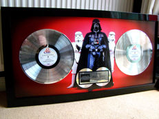 Star Wars  Platinum award large special 1 million sales.