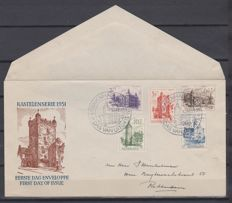 The Netherlands, 1951, FDC summer stamps, NVPH E5