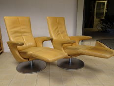 Georg Appeltshauser for Frank Sitzmoebel – two relaxing armchairs, type Smile