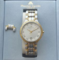 Maurice Lacroix – Gold and Steel – Men's Watch – new old stock