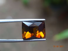 Tourmaline - Yellowish Brown - 7.49 ct